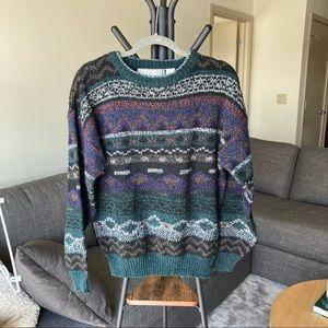 Michael Gerald Vintage Knit Sweatshirt